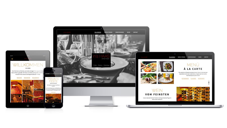 inshaas responsive website